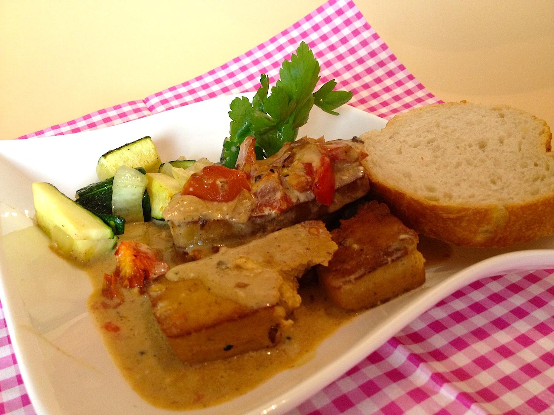 Tofu Auflauf mit Vermouth