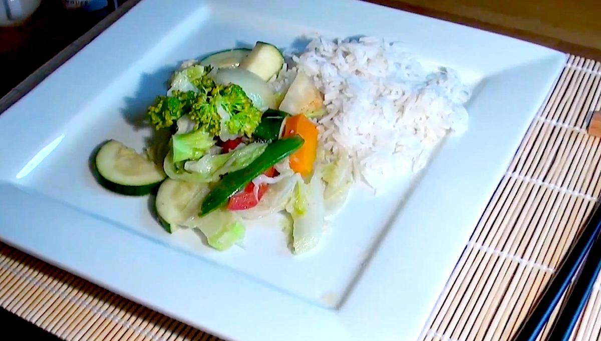 Thai Curry mit Sojasauce